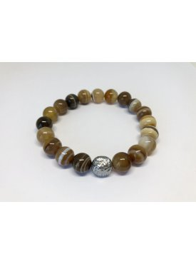 Bransoletka Brown Agate