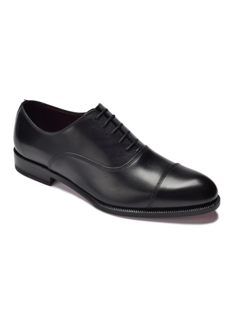 cbbbef3315360 Eleganckie czarne skórzane buty męskie oksfordy - Oksfordy - Buty ...
