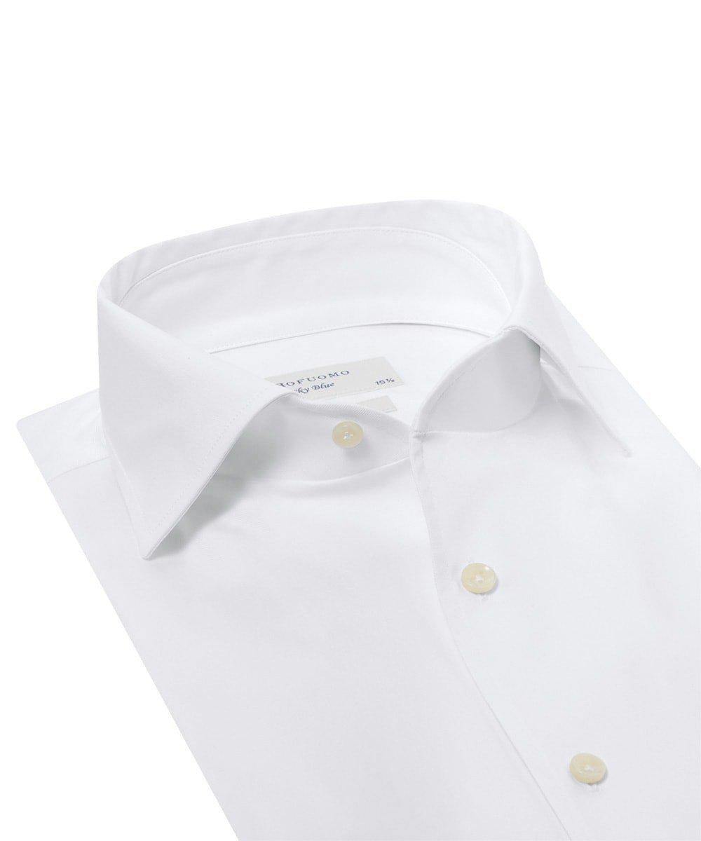 Elegancka uniwersalna biała koszula męska Slim Fit