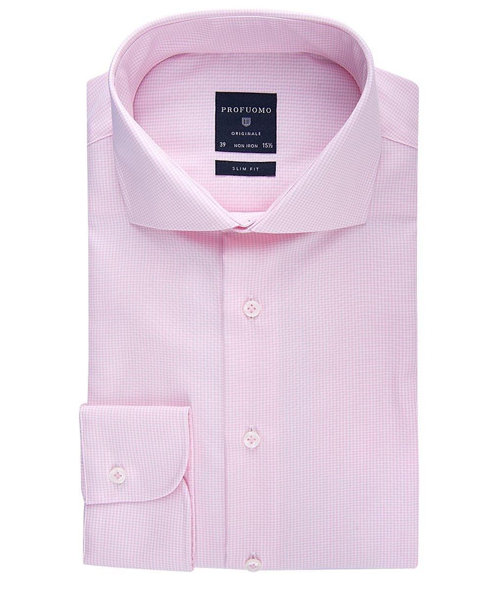 Elegancka koszula męska taliowana (SLIM FIT) w